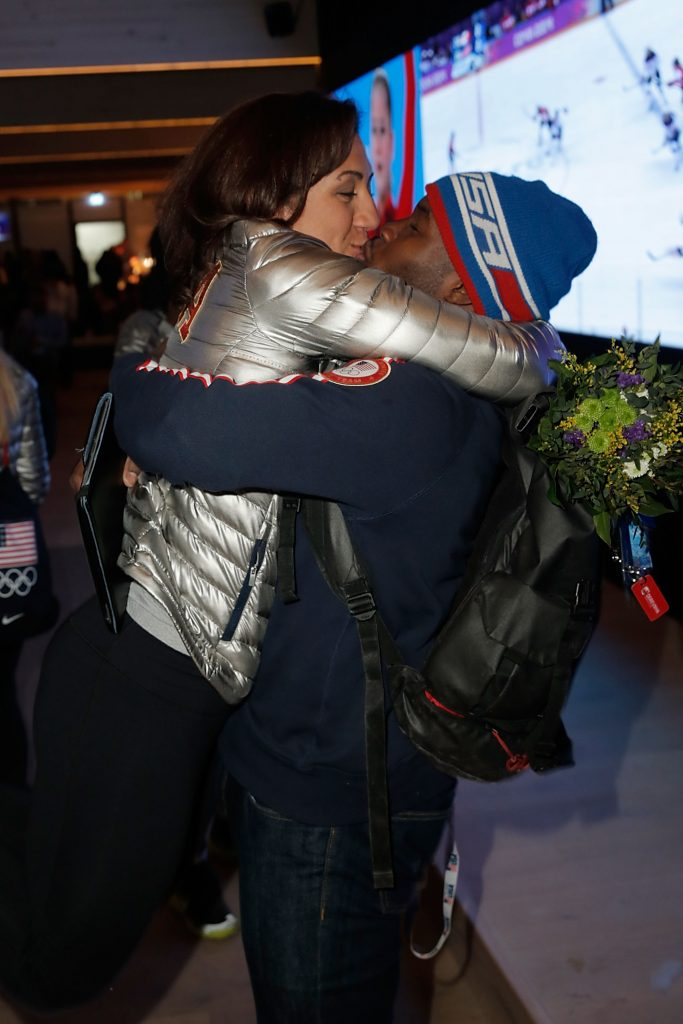 Elana Meyers and Nic Taylor