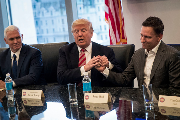 Peter Thiel & Donald Trump