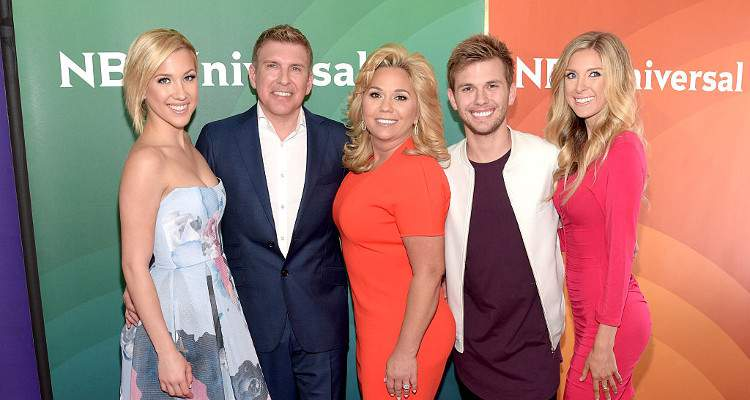 Todd Chrisley with Kids