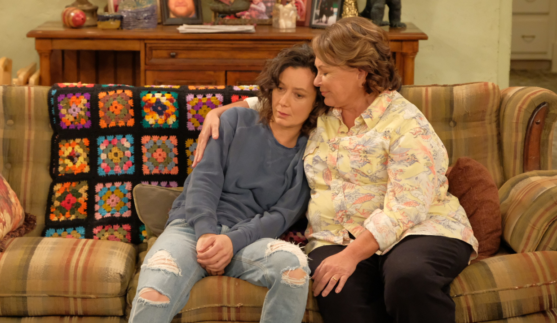 David and Darlene on Roseanne