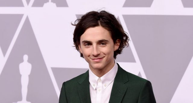 Timothée Chalamet's Girlfriend in 2018