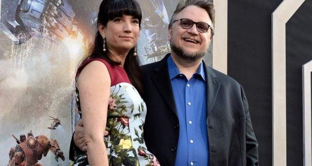 Lorenza Newton and Guillermo Del Toro