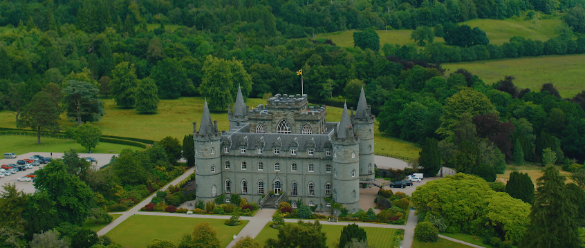 Royal Honeymoon in Scotland