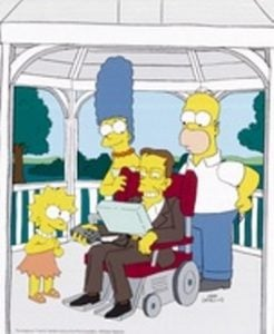 "Stephen Hawking in ""The Simpsons"""