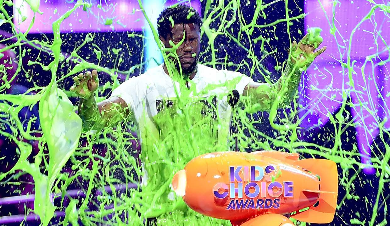 nick kids choice awards slime