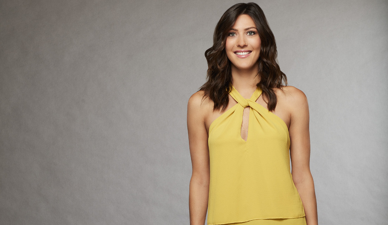 Becca from The Bachelorette