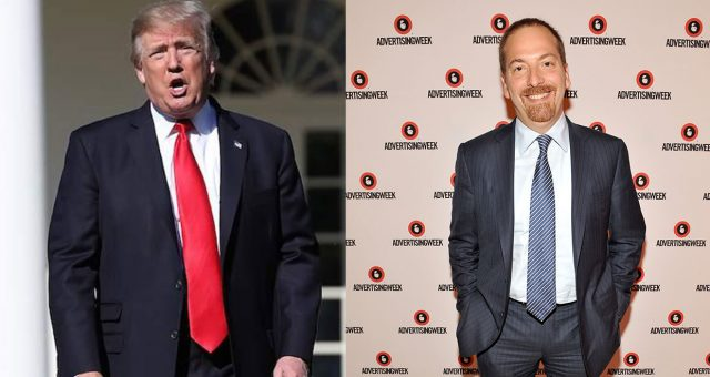 Donald Trump Tweets Chuck Todd to be Sleepy Eyes