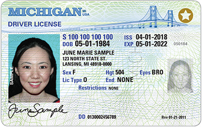 Michigan Driver's License