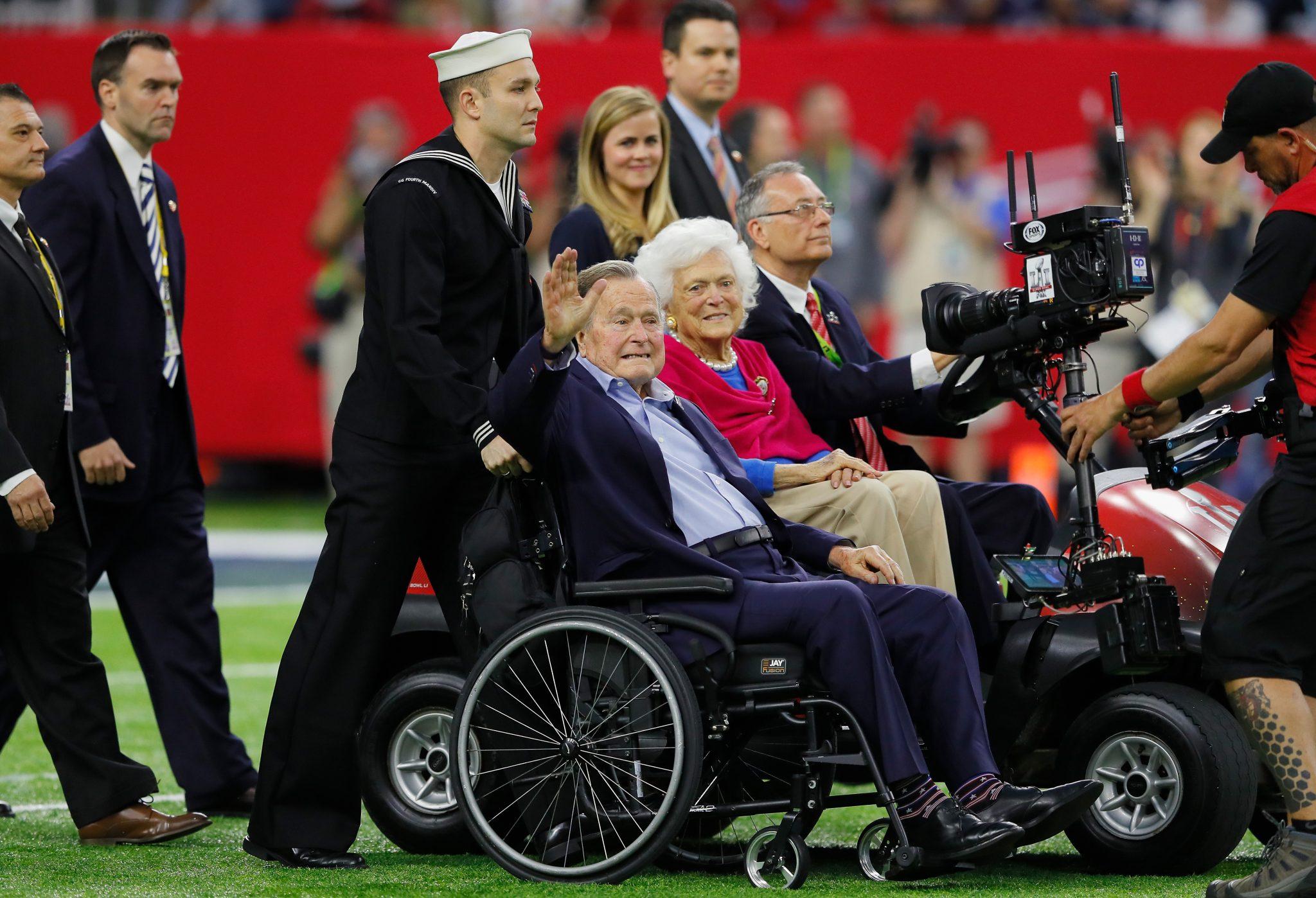George H. W. Bush and Barbara Bush
