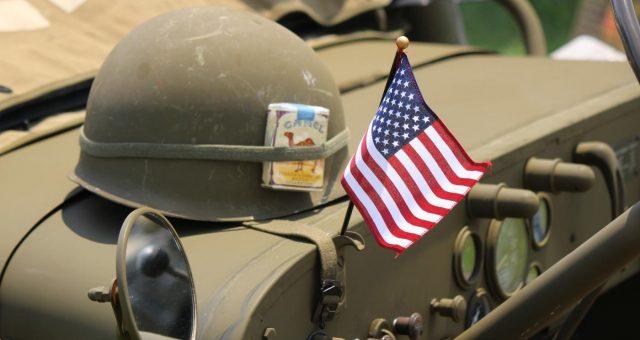 Jacksonville Military Flags