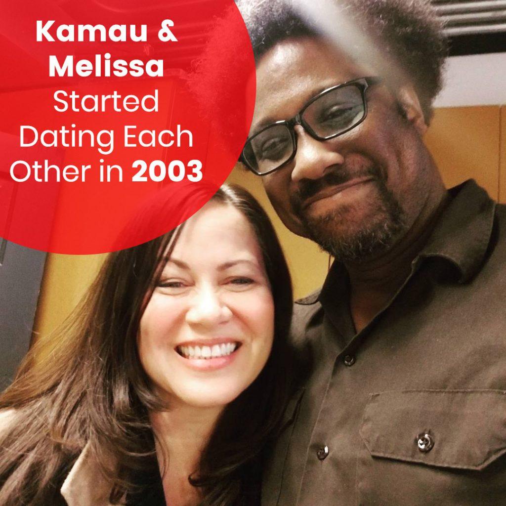 Kamau & Melissa Dating