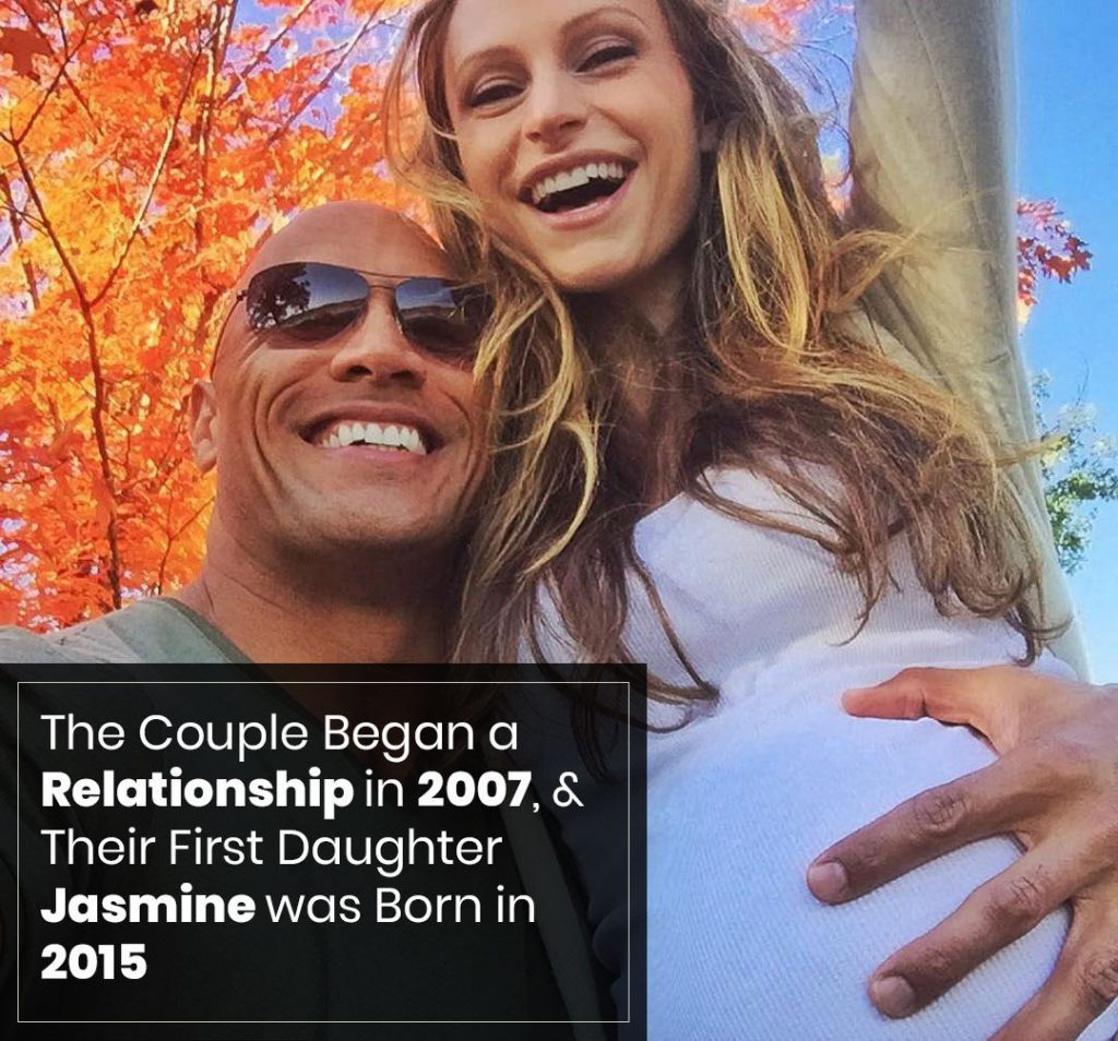 Lauren Hashian Relationship with Dwayne Johnson