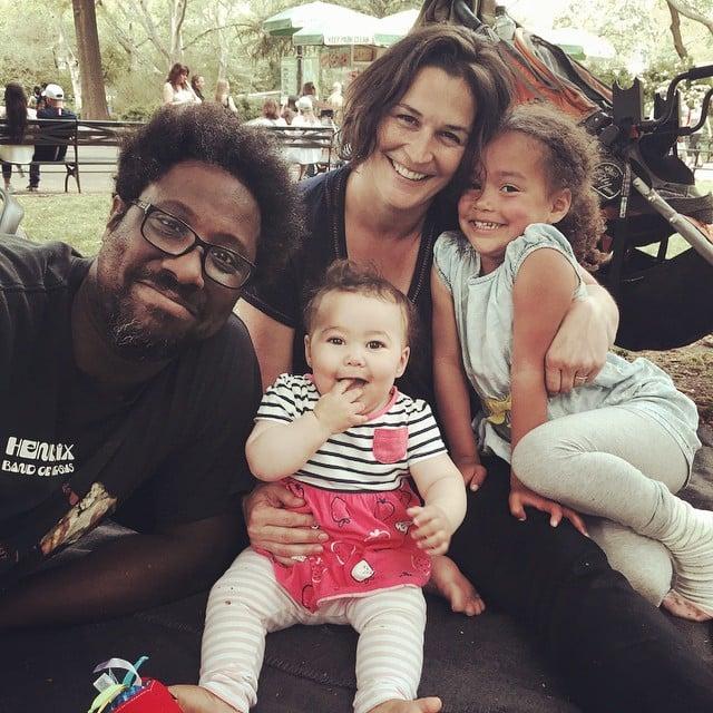 Melissa & Kamu Bell With Their Children