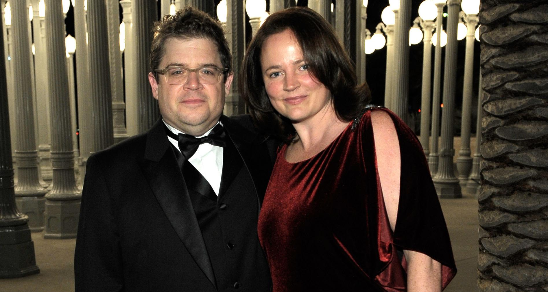 Michelle Eileen McNamara with Patton Oswalt