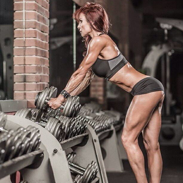 Shannon Ray Working Out