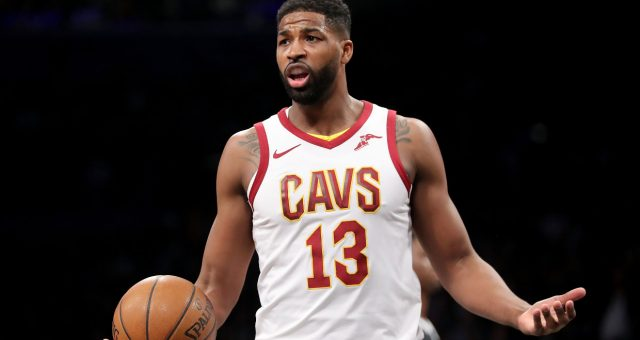 tristan thompson video