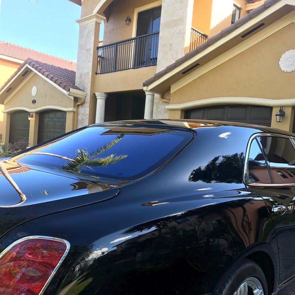 Bleu DaVinci's House and Car