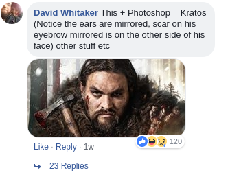 David Whitaker Comment