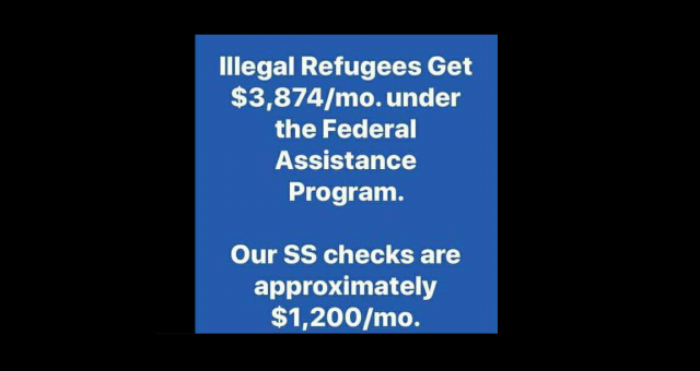 Do Illegal Refugees Get Paid