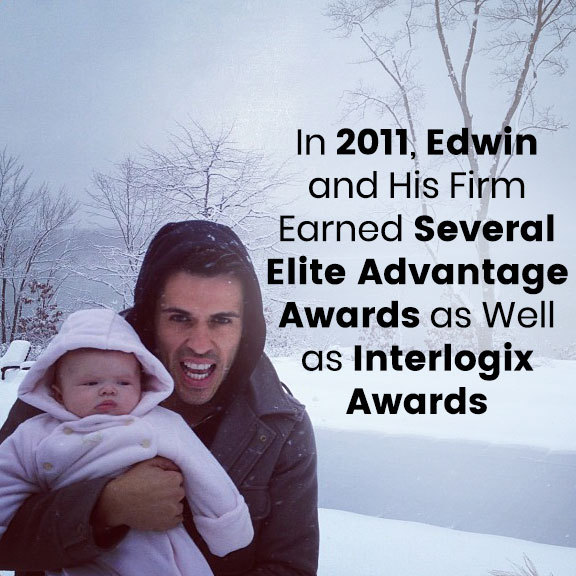 Edwin and His Firm Earned Several Awards