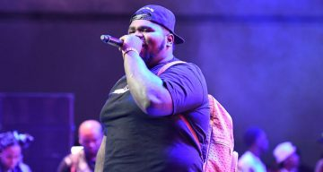 Fatboy SSE performing during 2017 BET Experience