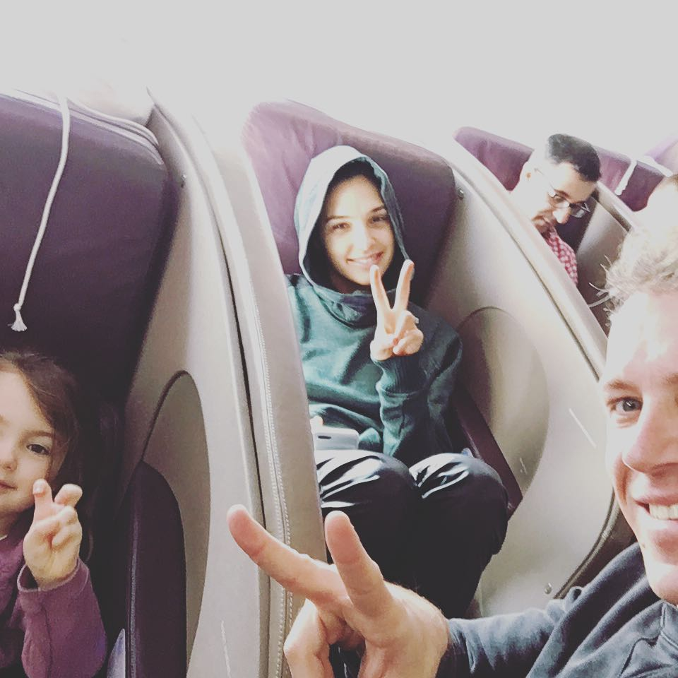 Jaron Varsano and Gal Gadot with their kids