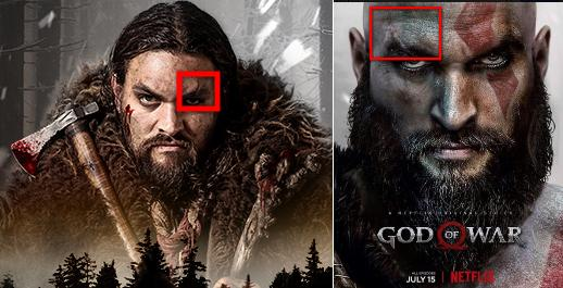 Jason Momoa Frontier & God of War Comparison