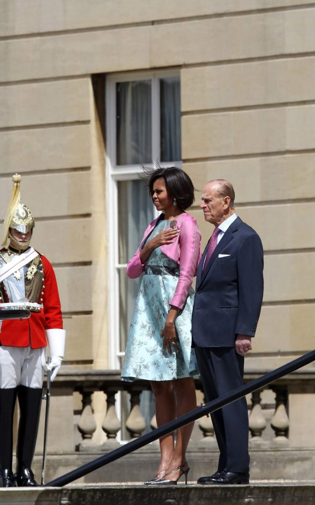 Michelle Obama With Prince Philip