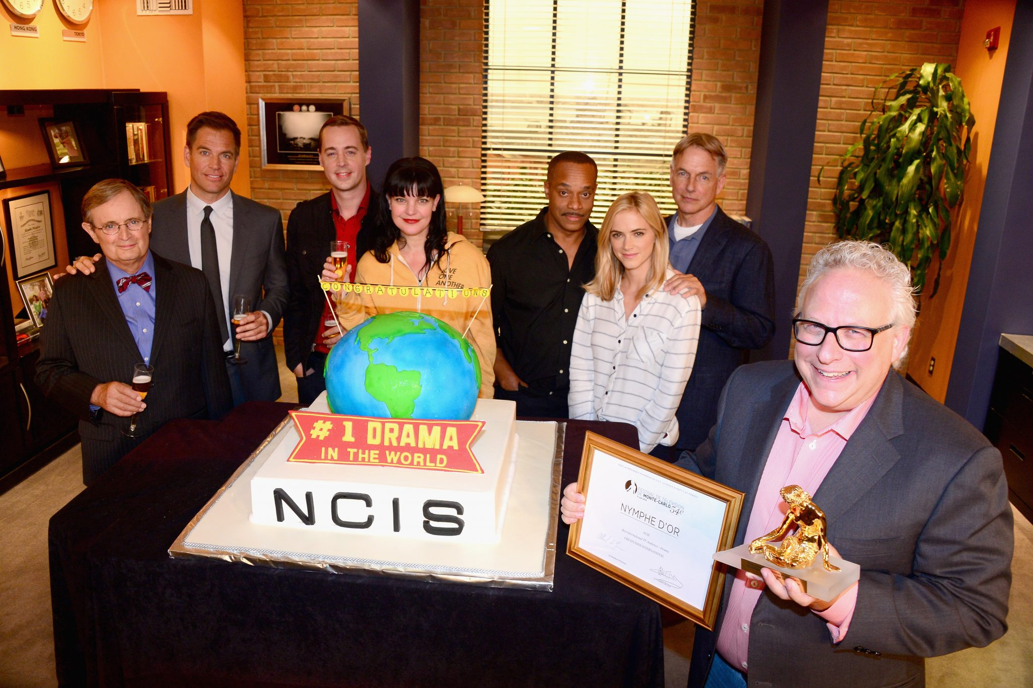 """NCIS"" Celebrates Being Named The Most-Watched Drama In The World"