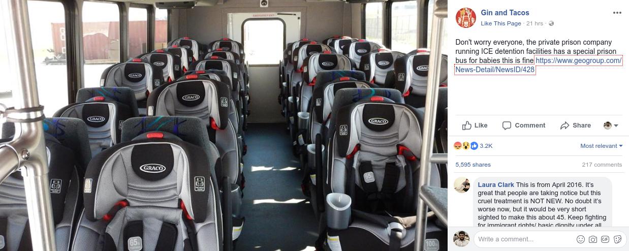 Prison Bus for Babies