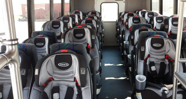 Prison bus for babies ath the KCRC