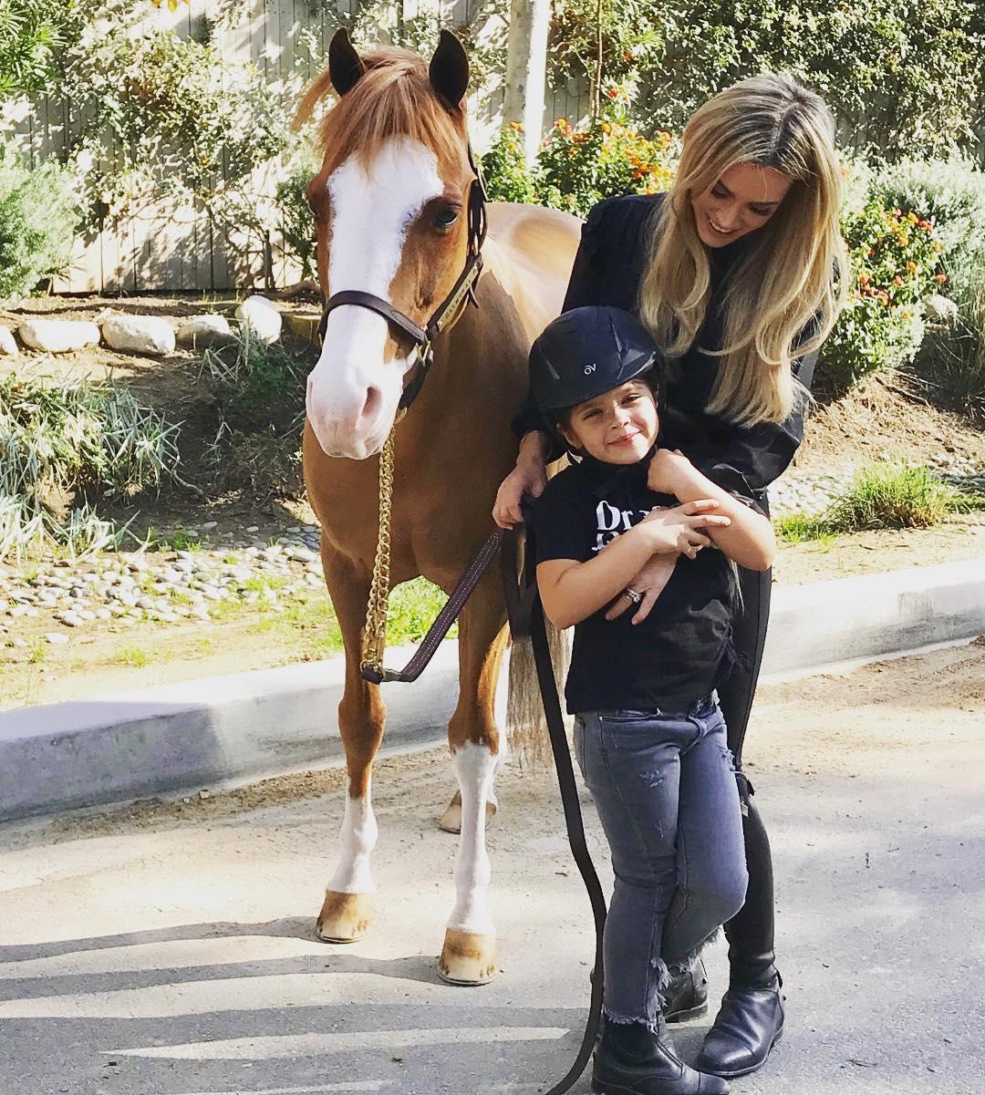 Teddi Mellencamp with her son