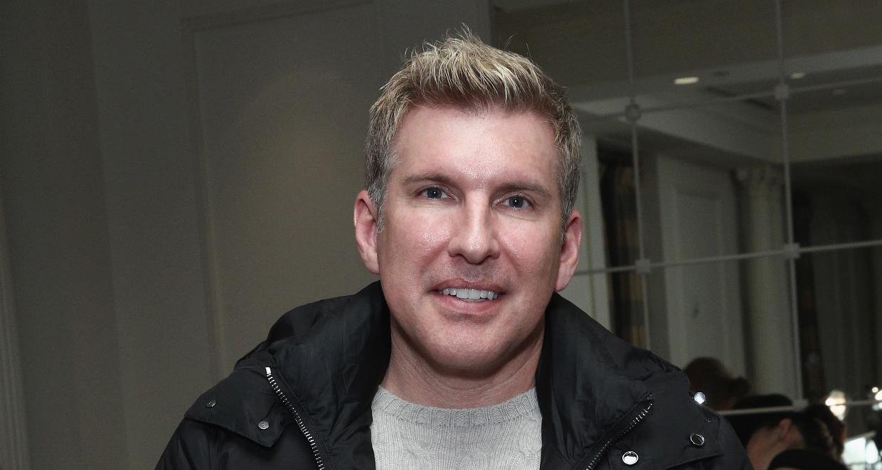Todd Chrisley at the Mercedes Benz Fashion Week Fall 2015