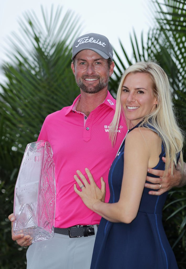 Webb Simpson with Wife Taklor Dowd Simpson