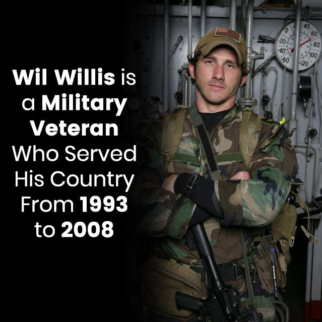 Wil Willis is a Military Veteran