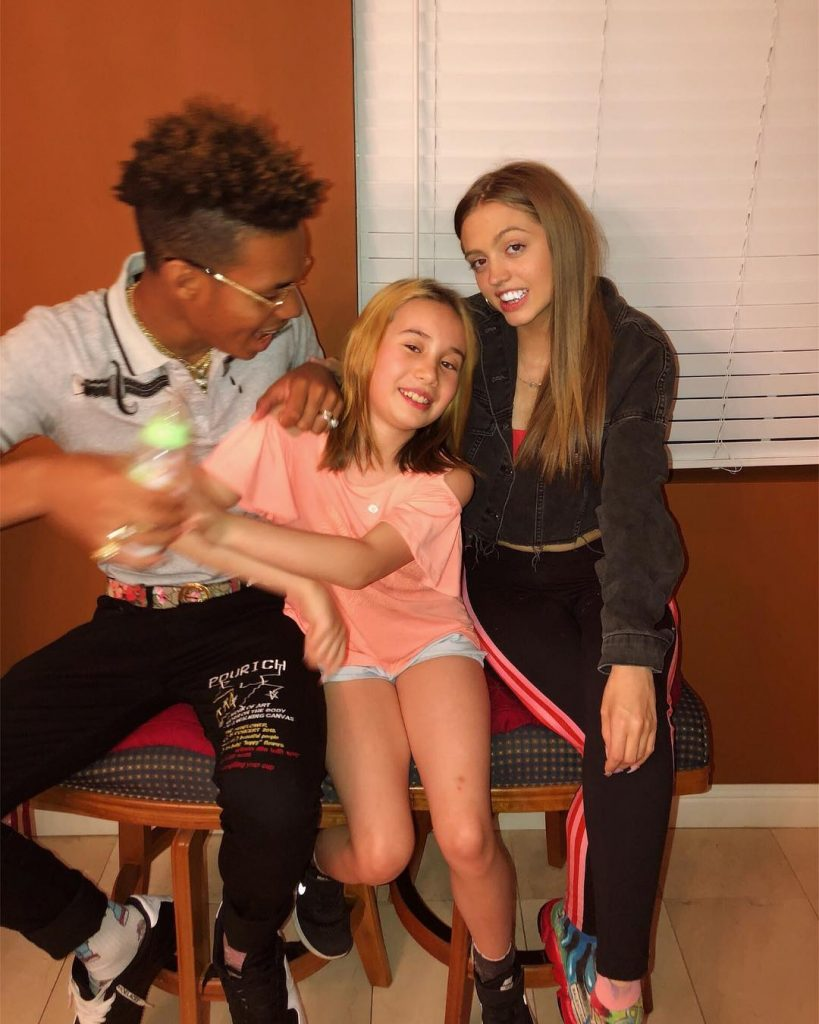 Woah Vicky With Lil Tay and Lil Rot