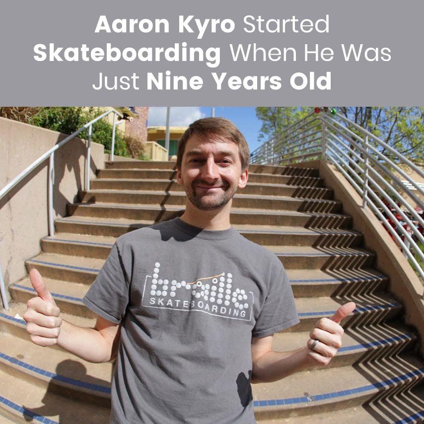 Aaron Kyro Skateboarding