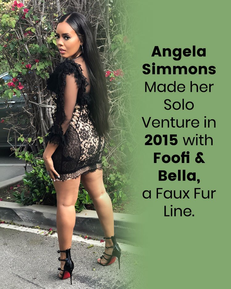 Angela Simmons Made her Solo Ventur in 2015