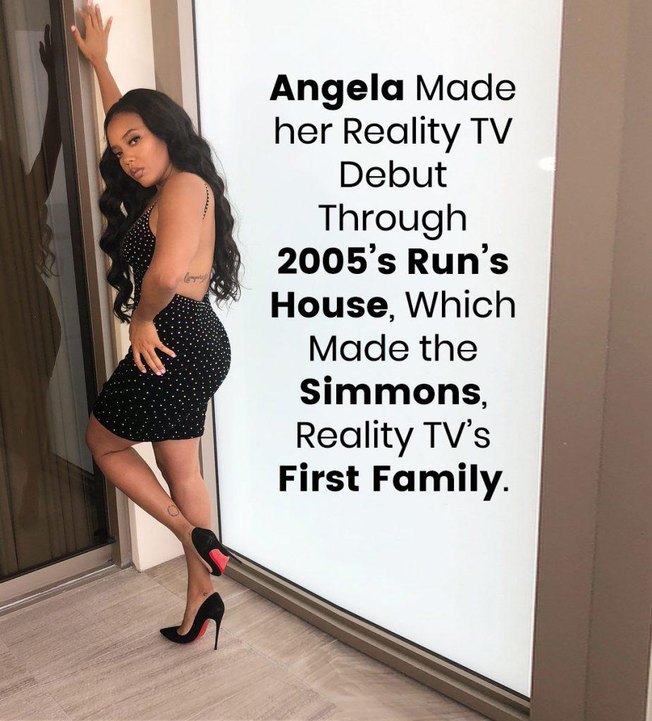 Angela's Reality TV Debut