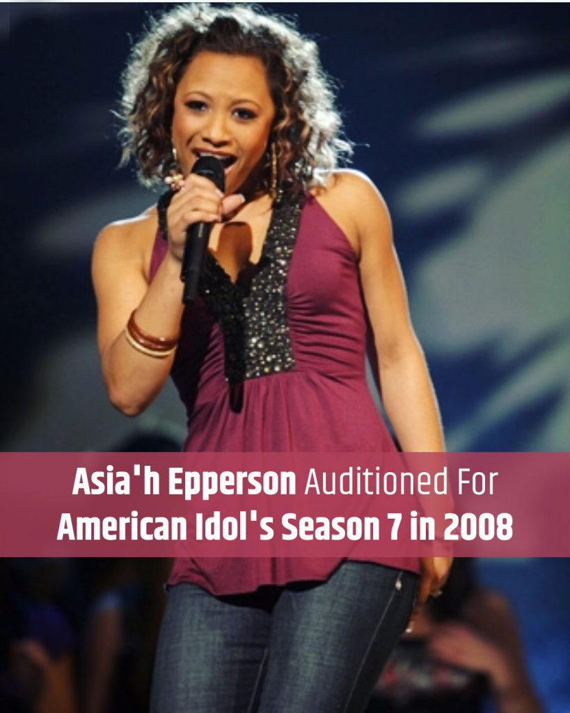Asia'h Epperson American Idol