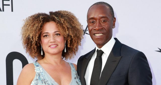 Bridgid Coulter With Don Cheadle