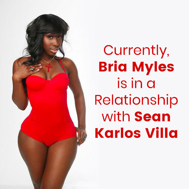 Currently, Bria Myles is in a Relationship with Sean Karlos Villa