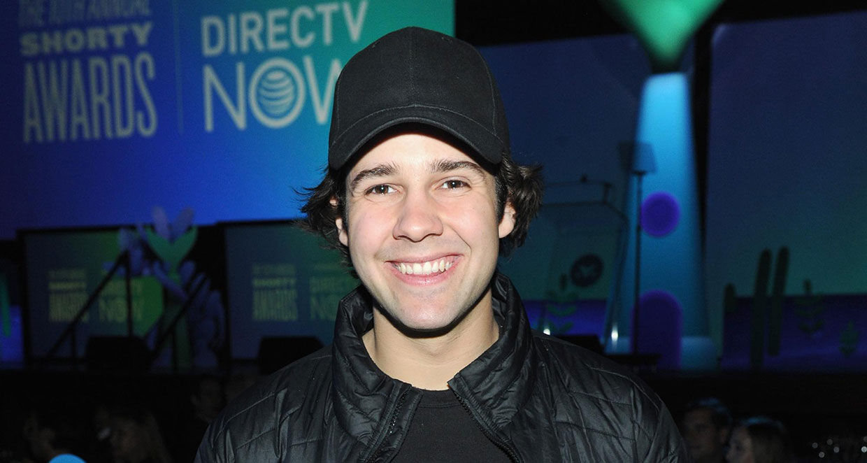 David Dobrik attends the 10th Annual Shorty Awards at PlayStation Theater