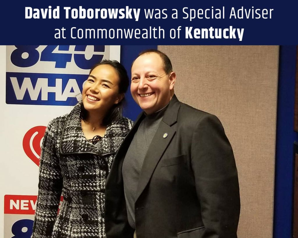 David Toborowsky was a Special Adviser at Commonwealth of Kentucky