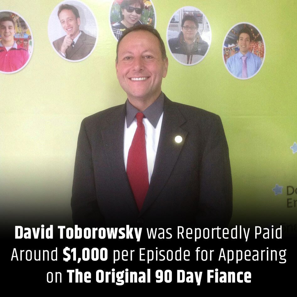 David Toborowsky was reportedly paid around $1,000 per episode