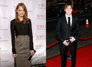 Emma Stone and Kieran Culkin