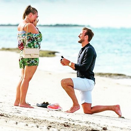 English soccer player, Harry Kane proposes to longtime girlfriend, Katie Goodland