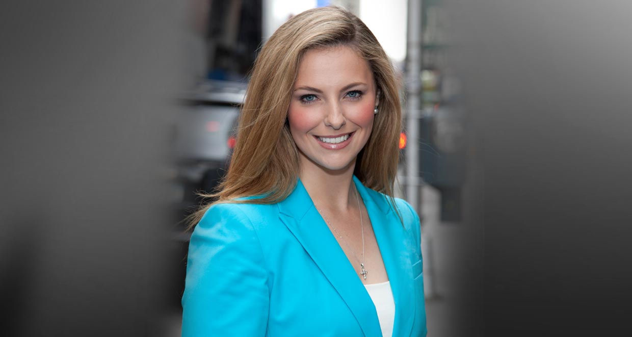 Fox News national correspondent, Lauren Blanchard