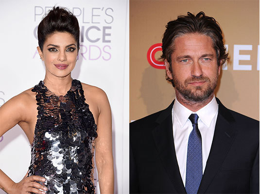 Gerard Butler and Priyanka Chopra