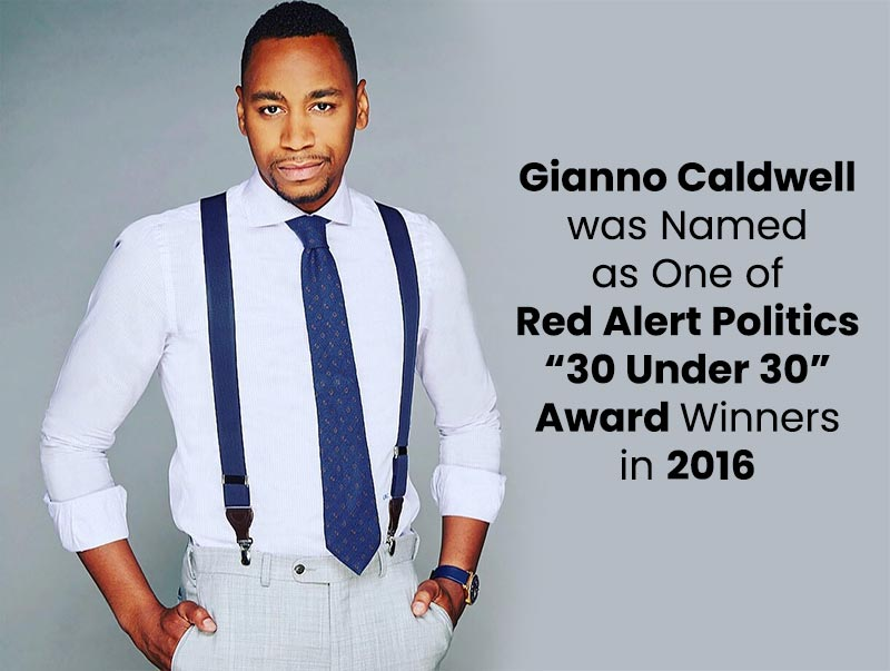 "Gianno Caldwell was Named as One of Red Alert Politics ""30 Under 30"" Award Winners in 2016"